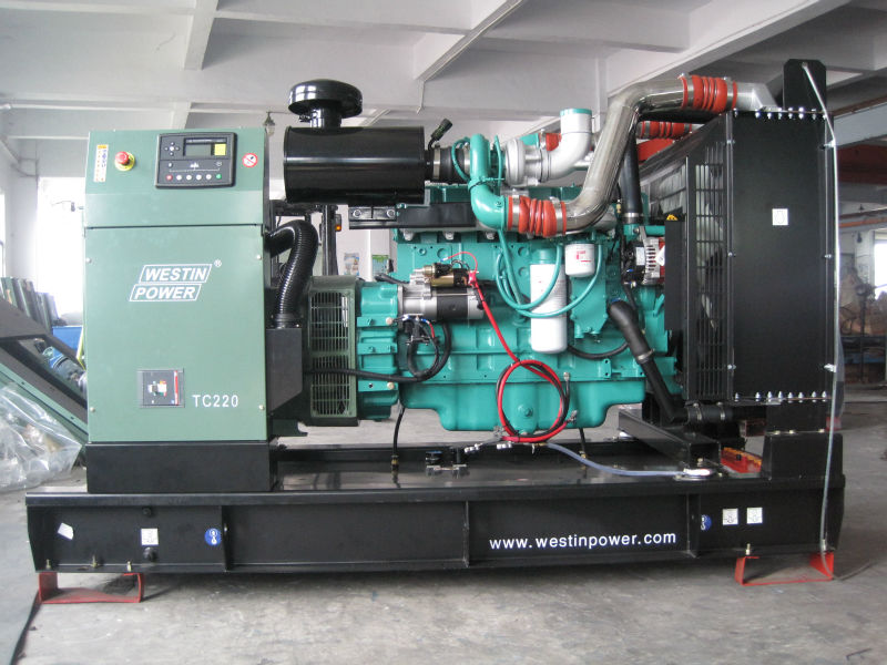 Famous engine brand provide spare parts silent type diesel genset for sale