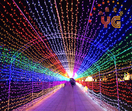 CE ROHS approved 110V/220V warm white proframmable led christmas light chain 10 m 100 leds color changing led christmas lights
