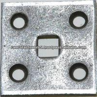 square hole carriage bolt washer