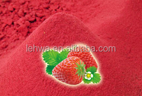 first quality instant strawberry flaovr powder for beverage/food