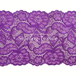 90% Nylon With 10% Spandex Stretch African Lace Nylon Lace For Underwear