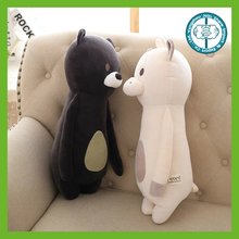 Wholesale best made kawaii stuffed soft plush round plush animal pillow toy