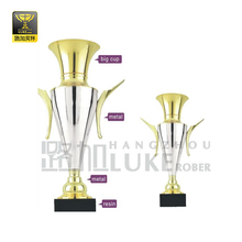 custom large football cup gold trophy metal