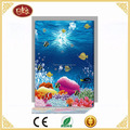 Beautiful LED Undersea World /Sea Decoration Hanging canvas painting for Room Decoration