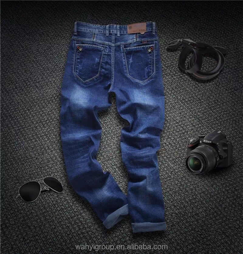 OEM Factory Best Quality High Fashion Mens Custom Jean