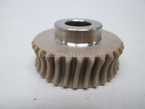 small plastic nylon worm gear for toy,plastic worm gear wheel