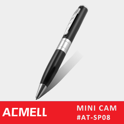 SP08 Multi-Functional Pen Camera 1280*960 Small Hidden Camera for Cars Mini Pen Video Camera
