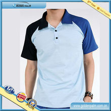 Men's slim fit Brushed Cotton Polo Shirts,Badminton jersey