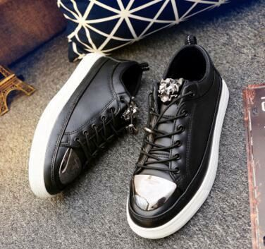 New spring tide comfort men platform casual canvas sneakers shoes
