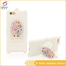 New arrival super luxury silicone cellphone case for iphone 6/6s