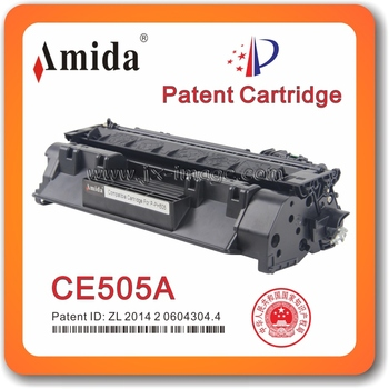 Amida Patent Cartridge CE505A comaptible for HP Toner cartridge