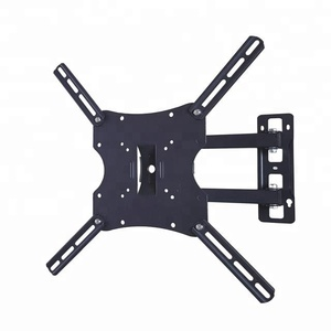 "14"" 37"" VESA 50/75/100/200mm rotating swing arm TV bracket wall mount"