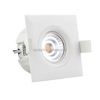 Lepu Patent Design 1800-2700k dim to warm GYRO led downlight Swan IP44 5years warranty