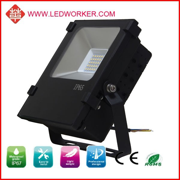 9 volt garden outdoor led flood light light full colors but Factory price