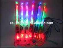 new product glow LED Fairy floss stick for cotton candy colorful LED flashing led cotton candy sticks for carnival