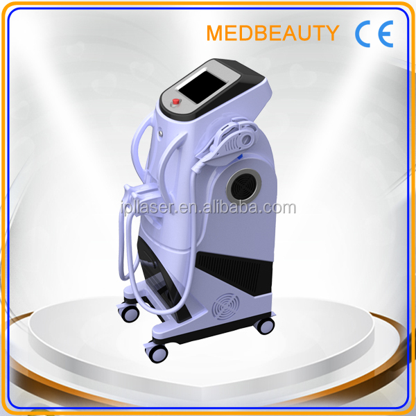 professional laser diode hair removal machine button control