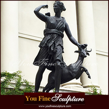 Garden Diana Large Bronze Statues For Sale