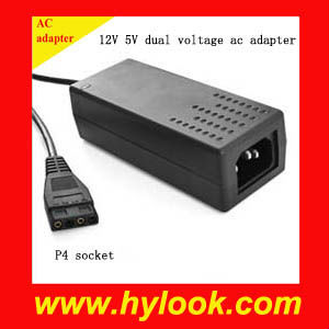 External Dual 12V 5V Power Supply For Hard Drive
