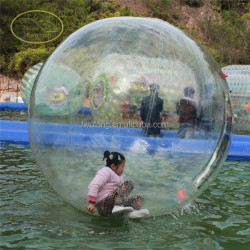 Giant inflatable clear plastic water ball water ball price