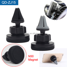 Premium CE Rohs Adjustable Car Mobile Phone Holder Air Vent Mount Smart Phone Holder For iPhone