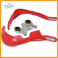 import motorcycle parts, dirt bike parts CNC alloy red colorful scooter hand guard