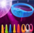 Wholesale party event items Silicone remote controlled led bracelet