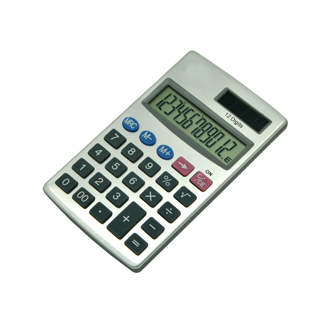 Small Size Pocket Cheap Calculator with Leather Cover