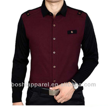 Custom made high quality men casual shirts pictures with good price