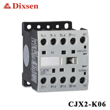 LC1-K Different Types Of AC Magnetic Din Rail 220v Coil Contactor