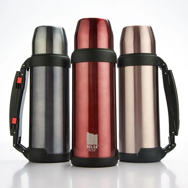 RELEA Sport vacuum flask 1L vacuum water travel bottle