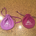 Round bottom drawstring bag with logo/ripstop drawstring bag/VELVET bag drawstring