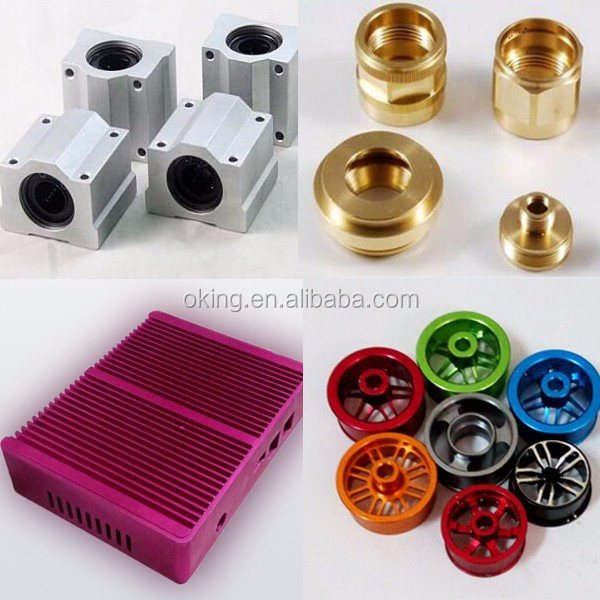 Machined cnc milling part /Drilling brass cnc motorcycle parts