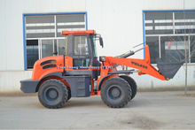 CE certificated mini whell loader TZL826 with Cumminss engine