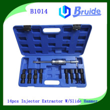 Hydraulic Puller Set 9pcs Blind Hole Bearing Slide Hammer Gear Puller Remover Set