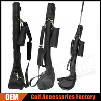 Factory Customize Leather Golf Club Sunday Bags