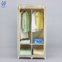 High quality portable bedroom wardrobe cabinet