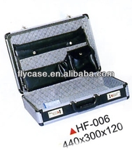 custom design portable aluminum metal briefcase with coded lock