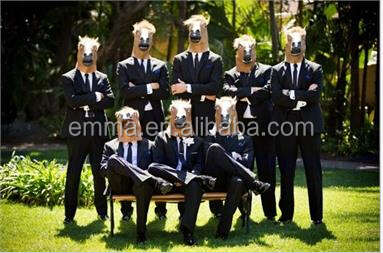 HOT sales Horse Head Mask Latex Animal Costume Prop Gangnam Style ToysMK001