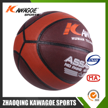 Cheap price colorful rubber basketball
