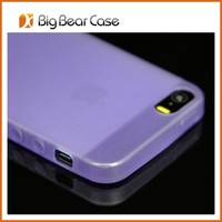 Guangzhou factory soft tpu back cover case for iphone 5 jelly case