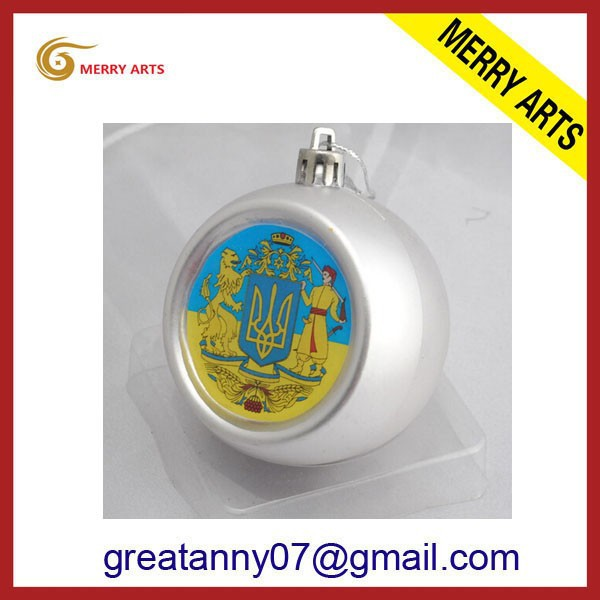 New products unique inside painting ball wholesale shatterproof christmas ball ornaments