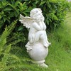 China factory wholesale life size angel garden statue outdoor decoration angel statues wholesale