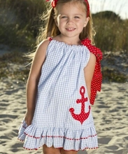 new model baby kids woven cotton pom bottom red ribbon summer boutique girl dresses