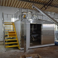 rubber and plastic cryogenic pulverizer
