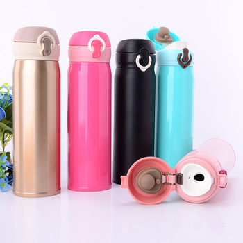 Best selling newest design thermos vacuum bounce cup two layers insulated travel mug stainless steel drinkware wholesale