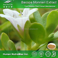 2016 Manufacture Sell 100% Natural Herb Product Bacopa Monnieri Extract Powder with 50% Bacopaside