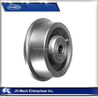 High quality solid gantry crane wheels
