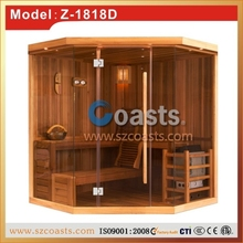 Traditional wooden sauna steam carbin for sale