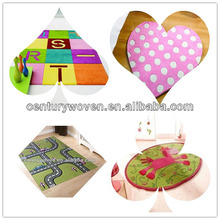 Modern baby play mat / handtufted arylic mat for children