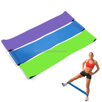 theraband resistance band hot for yoga , pilate , ballet home gym exercise